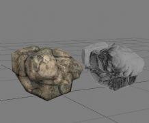 大石头,山体岩石