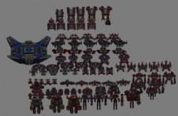 《星际来袭》全套兵种3D模型