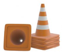 反光锥,道路设施