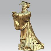 秦始皇雕像,可3D打印