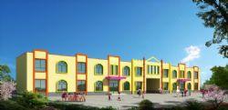 两层现代简约幼儿园