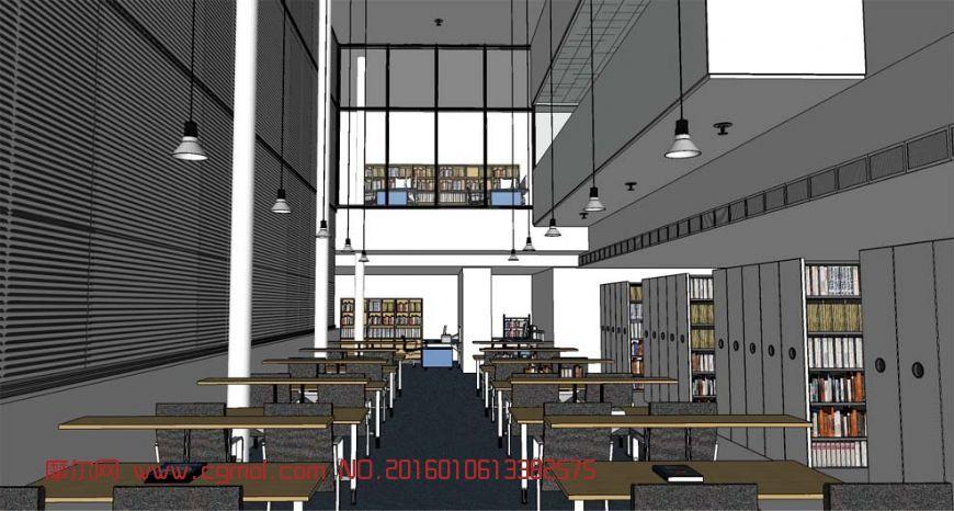 图书馆室内