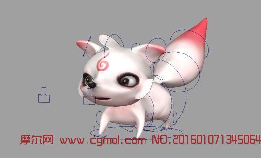 动物模型 哺乳动物  标签:狐狸卡通游戏绑定
