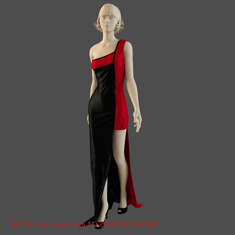 时尚衣服潮流服装商店摆设店面设计橱窗设计男模特