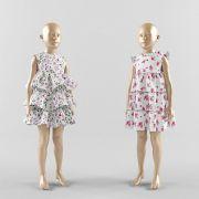 3D模型童装模特模型