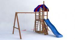 儿童设备游乐场攀爬滑滑梯