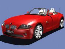 BMW超精细敞篷跑车,发动机盖,车门均可以打开