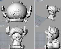乔巴3D打印模型