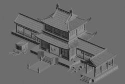 中国客栈古代建筑