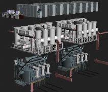 变电站模型