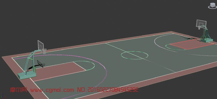 原创: 篮球场