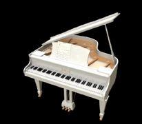 钢琴maya模型