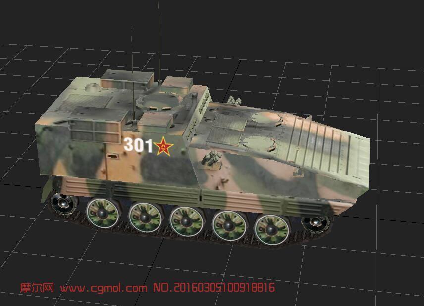 81式装甲指挥车