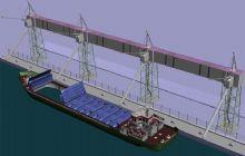 海上塔吊船