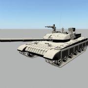 国产99式坦克精摸
