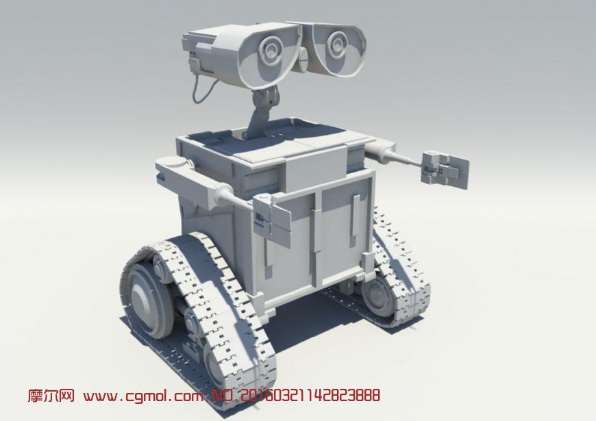 机器人瓦力模型