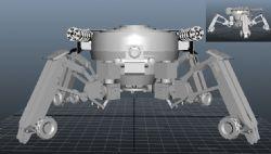 四脚战争机器人