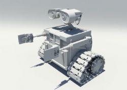 maya瓦力机器人