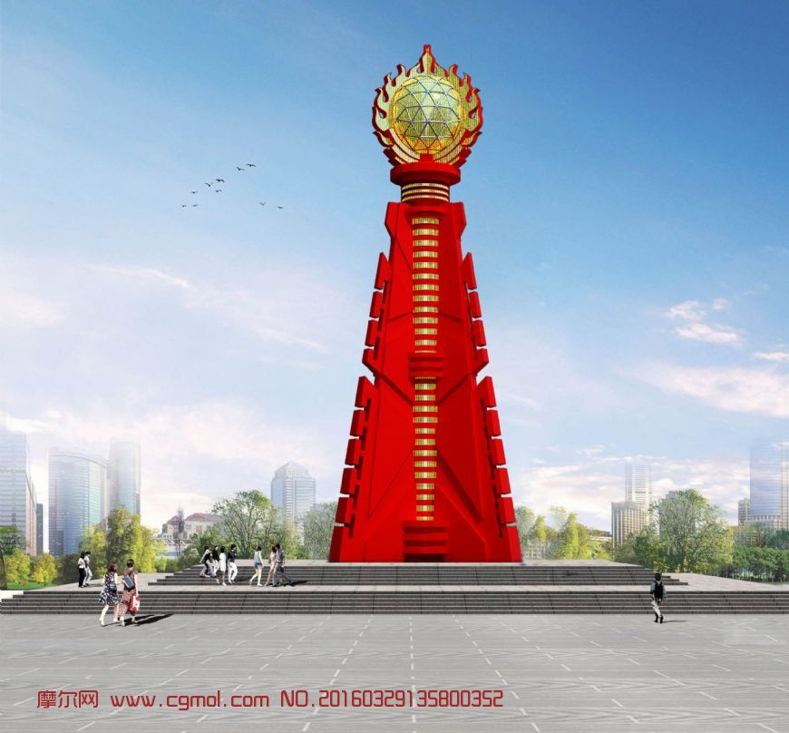 东方之珠景观雕塑设计