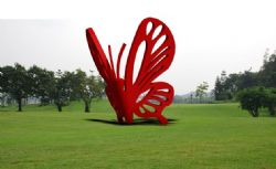 园林蝴蝶雕塑max模型