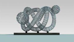 钢管雕塑设计