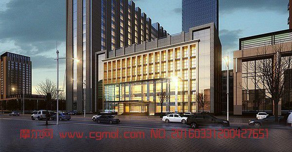 场景模型 现代场景  标签:建筑商业街商场大楼办公楼 作品描述:丢失部