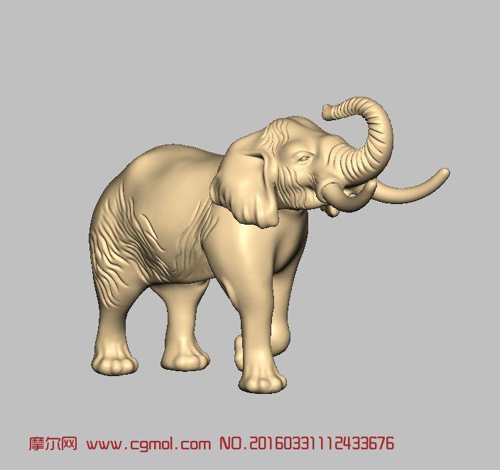 动物模型 哺乳动物  标签:象牙大象动物 作品描述:大象,动物,哺乳动物