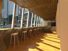 波浪造型咖啡厅,清吧max模型