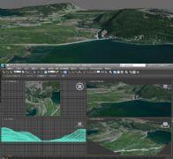 山水�鼍�3D模型