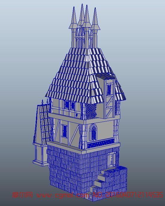 动物模型 哺乳动物  标签:房子房屋城堡 作品描述: 上一个作品