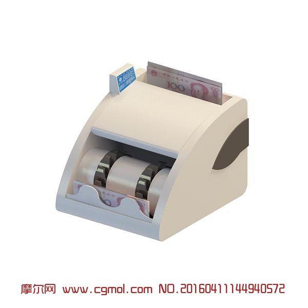 电子电器 家用电器  标签:验钞机点钞机 作品描述:验钞机3d模型,店面