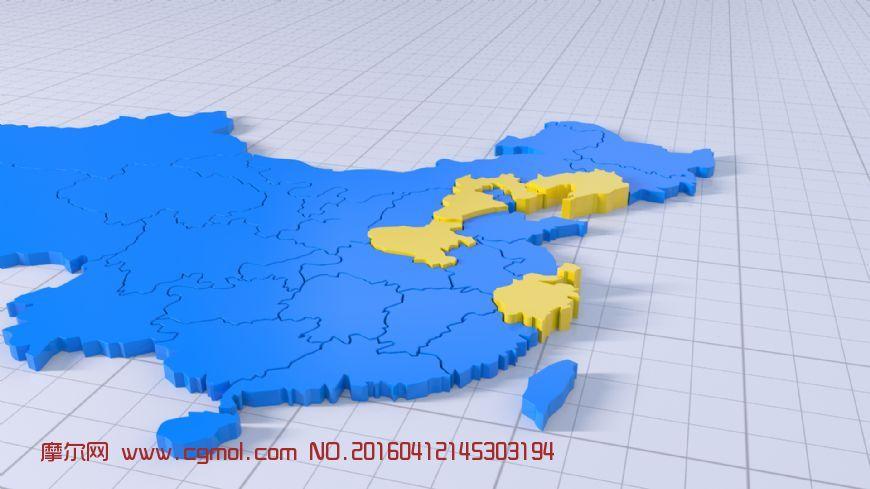 原创: 中国地图