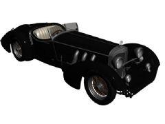 经典奔驰老爷车3D模型