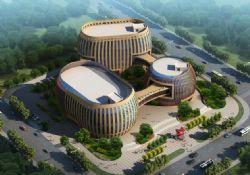 工人文化宫(只有主体建筑模型)