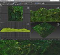 岩石山3D模型