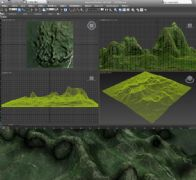 �r石山3D模型
