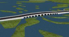 拱桥高速公路3D模型
