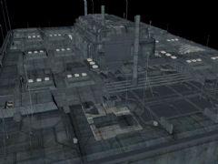 科幻�鼍暗�c4d模型,lib4d格式