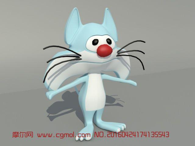 动物模型 其他  标签:简单入门 作品描述: 上一个作品:    卡通警察3d