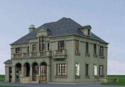 欧式独栋别墅设计三