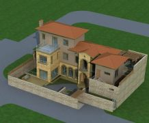 欧式别墅设计三