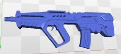 tr步枪stl模型