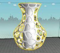 镂空花瓶3D打印文件