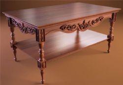 ��木小��桌,小茶��3D模型