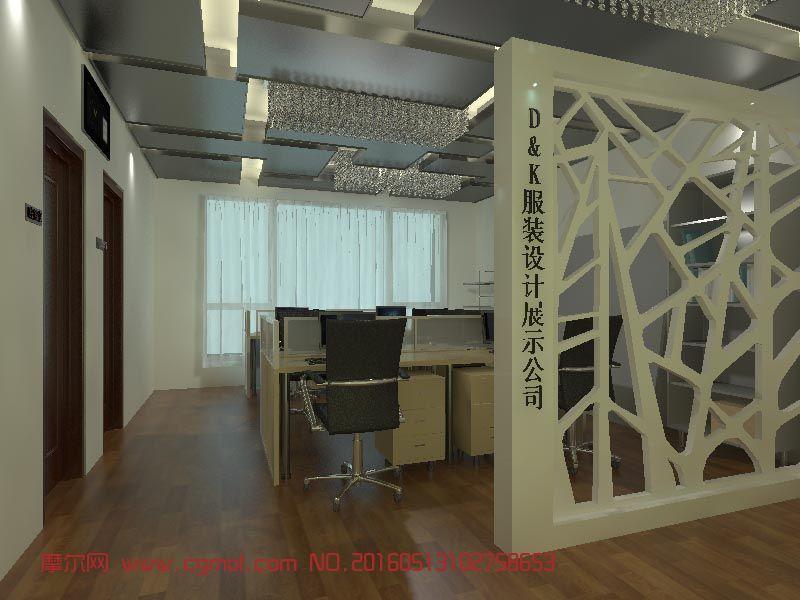 服装设计公司展示空间