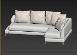 转角沙发模型