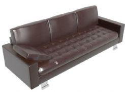 老款皮质沙发3D模型