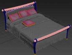 一张简单的床