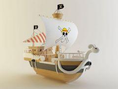 海贼王梅利号海贼船