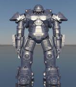 高精度版-反浩克装甲maya模型